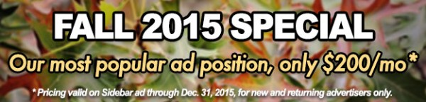 Fall 2015 Ad Special banner
