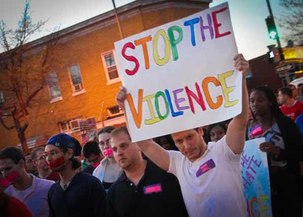 violence against gays