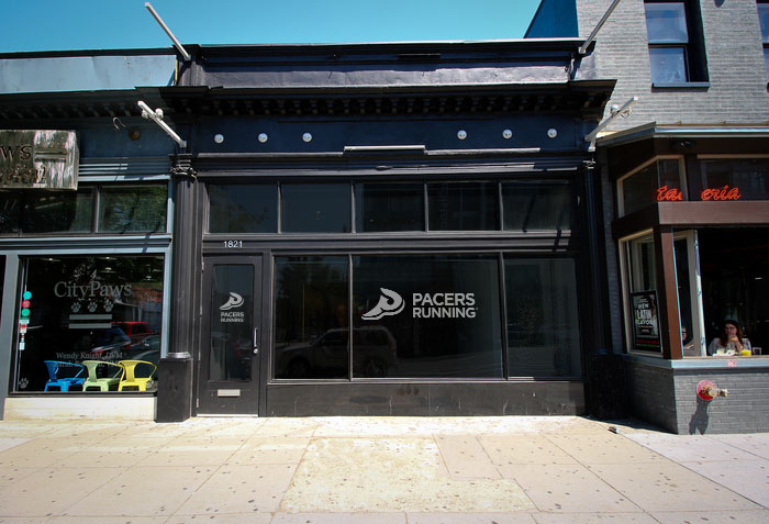 Pacers Running's new space on 14th Street