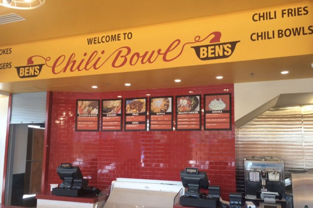 Interior of Ben's Chili Bowl on H Street (Photo via Ben's Chili Bowl)