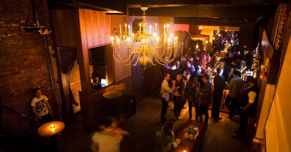 Bourbon upstairs space