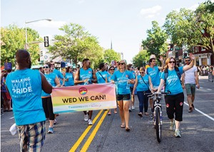Wed We Can march in 2014, Photo courtesy of Maggie Winters Photography