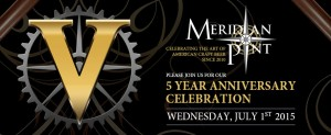 Meridian Pint 5 Year Party