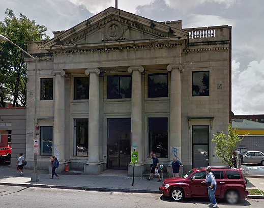 indian embassy cultural center at 1438 U Street, NW, via Google Street View