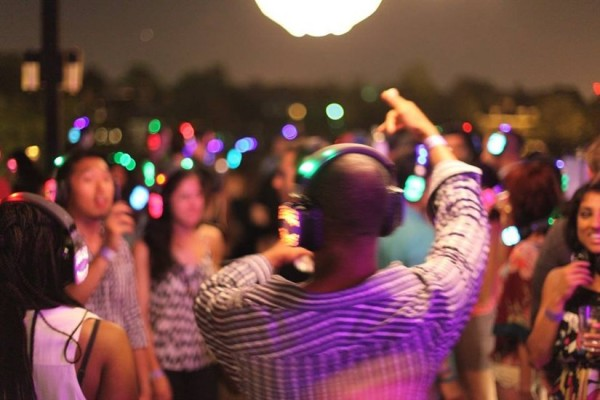 Silent Disco Party, photo courtesy of Silent Dance Society