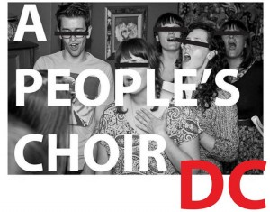 People's Choir, Photo via facebook.com/APeoplesChoirDC