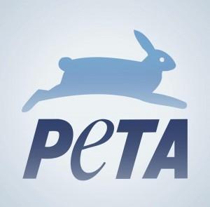 PETA logo, photo via Facebook