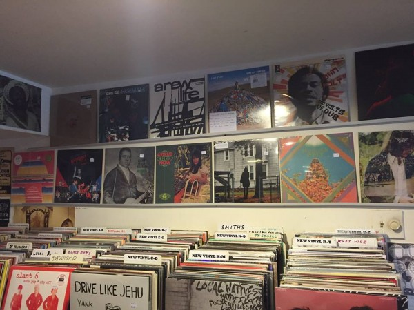 Red Onion Records storefront