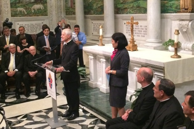 Cardinal Donald Wuerl confirmed during a press conference that the Pope will visit St. Matthew's