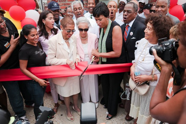 Del. Eleanor Holmes Norton, Ben's Founder Virginia Ali and Mayor Muriel Bowser