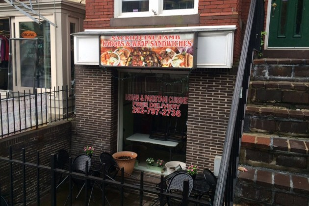 Sacrificial Lamb Kabobs and Wraps at 1704 R Street NW