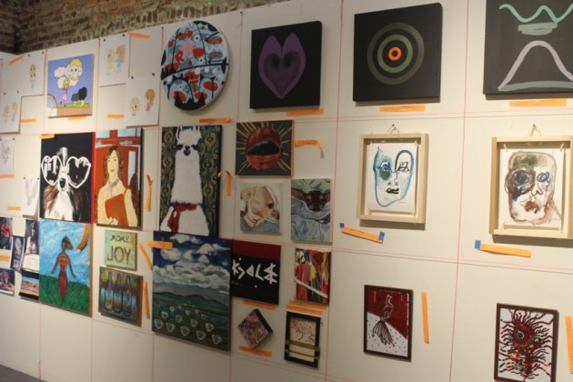 Artist flocked to DCAC for its annual Wallmountables exhibition