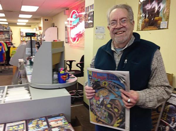 Joel Pollack Big Planet Comics