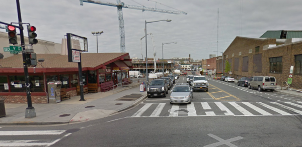 Georgia Avenue and V Street NW, Photo via Google Street View