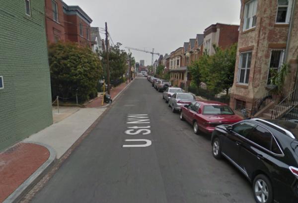 500 block of U Street NW, photo via Google Street View