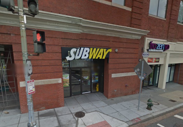 Subway at 2301 Georgia Ave NW