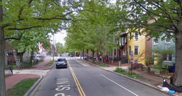 1000 P Street NW, photo via Street View