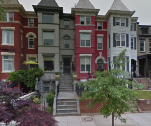 1201-1203 Kenyon Street, NW properties as seen on Google Street View
