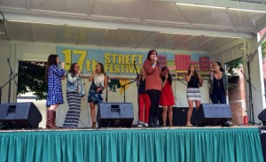 The District Vocal perform at the 17th Street Festival in 2014 (Photo via Facebook/ 17th Street Festival)