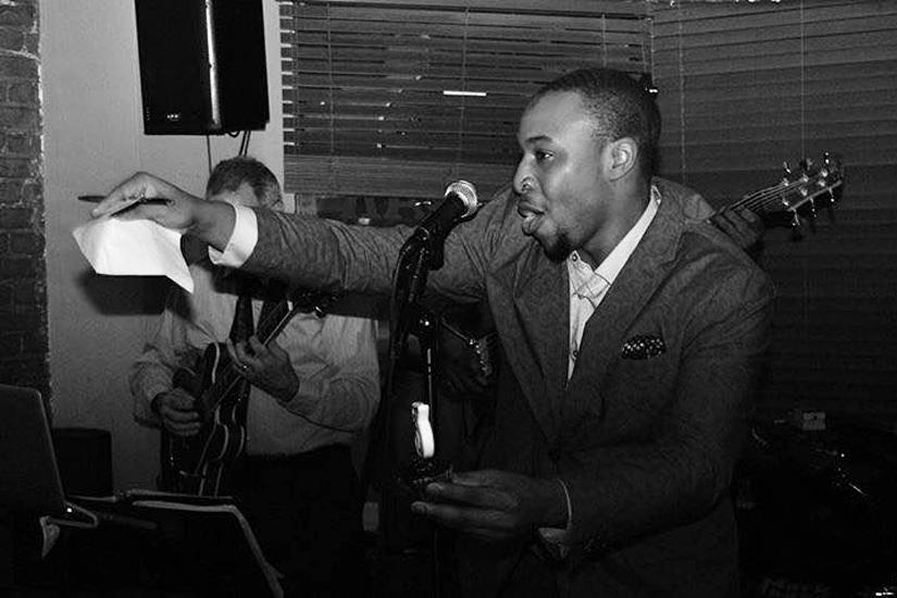 Aaron Myers Jazz Singer (Photo via Myers)