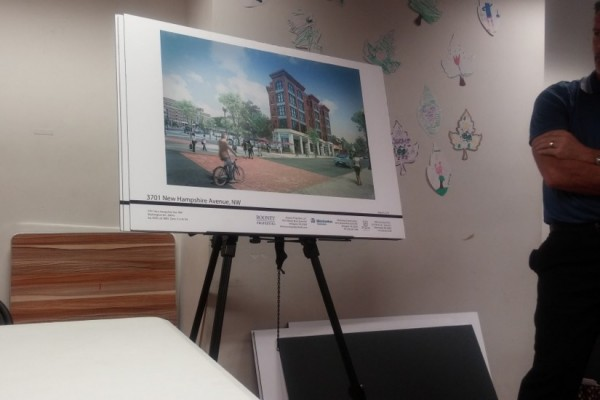 Developers discussed mural with residents