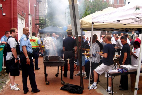 National Night Out in Dupont Circle, photo via flickr.com/photos/taedc