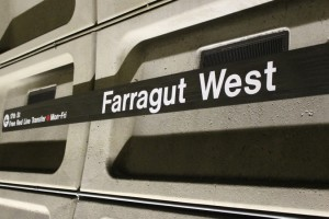 Farragut West Metro station, photo via Flickr.com/Matt' Johnson
