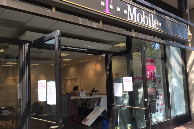 The T-Mobile at 1330 Connecticut Ave. NW is now closed