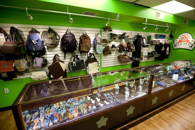 The store will carry an assortment of clothes, pipes and accessorites