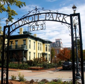 LeDroit Park, photo via Twitter.com/DCculture
