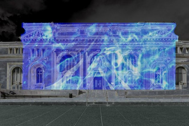 Carnegie Library rendering