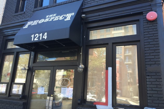 The Prospect will open this Saturday at 1214 U St. NW