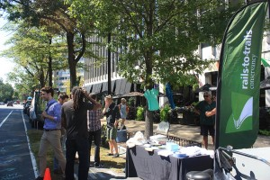 PARK(ing) Day in Dupont Circle 2015