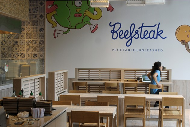 Beefsteak opened its doors at 10:30 a.m. today