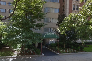 2100 Connecticut Avenue NW, photo via Street View