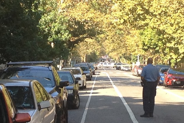 Police originally received a report of a suspicious package found on the 1600 block of 16th Street NW