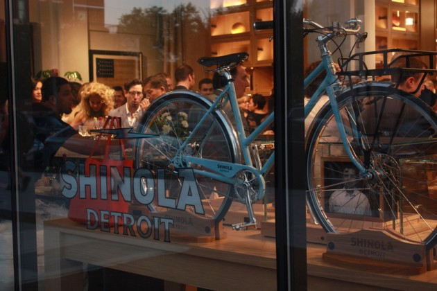 Shinola sells bicycles, watches, leather goods and other accessories