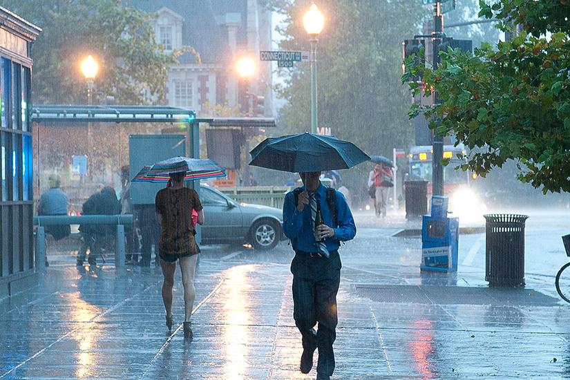 rainy weather in Borderstan, photo via https://www.flickr.com/photos/vlsergey/
