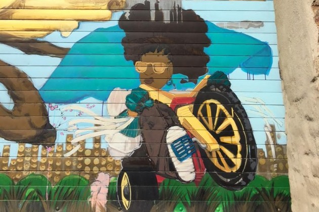 """Maker of Saints Mural"" by Rozeal Brown"