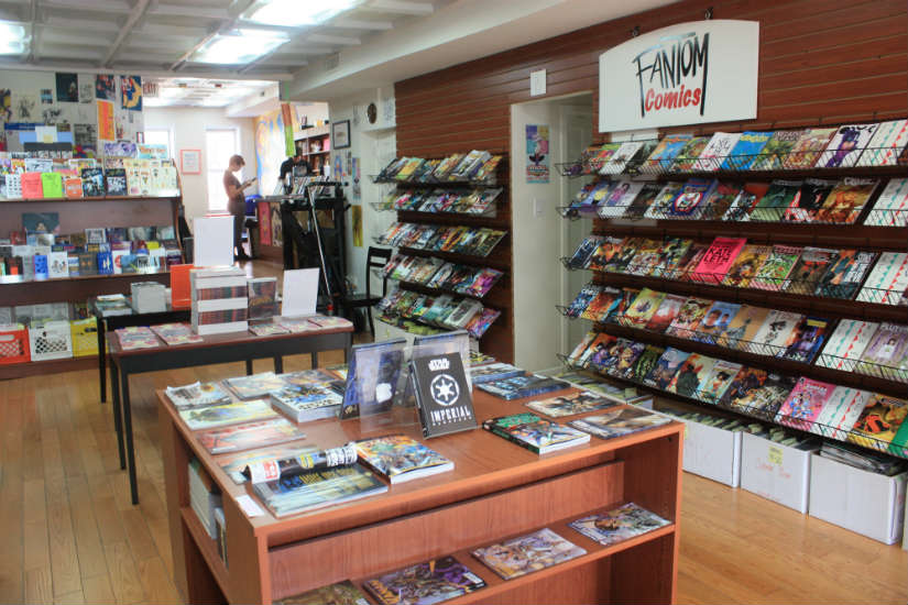 Fantom Comics in Dupont Circle