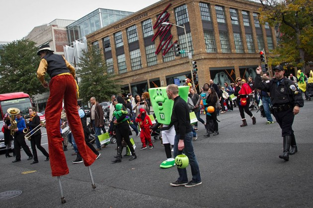 Little Goblins Parade at P and 14th streets NW