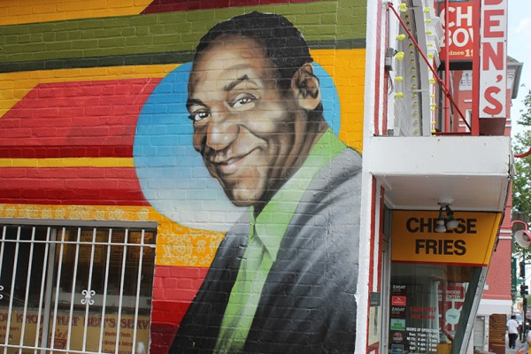 Cosby mural at Ben's