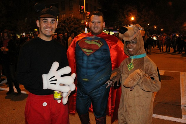 Mickey Mouse, Superman, Scooby Doo, together at last