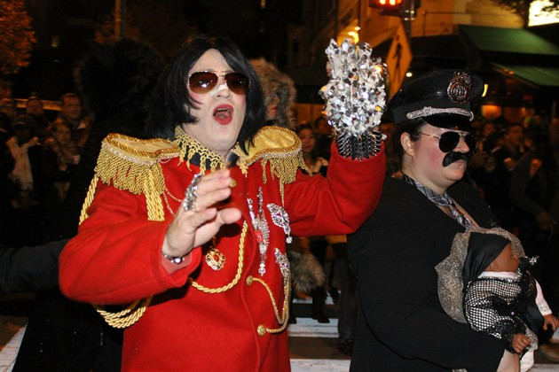 Michael Jackson goes ga-ga for…