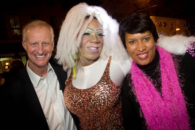 D.C. Councilmember Jack Evans and Mayor Muriel Bowser were in attendance