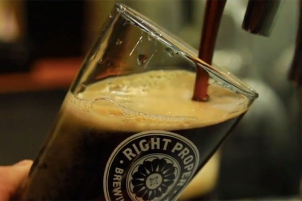 Right Proper Brewing Co. beer (Photo via Right Proper Brewing Co.)