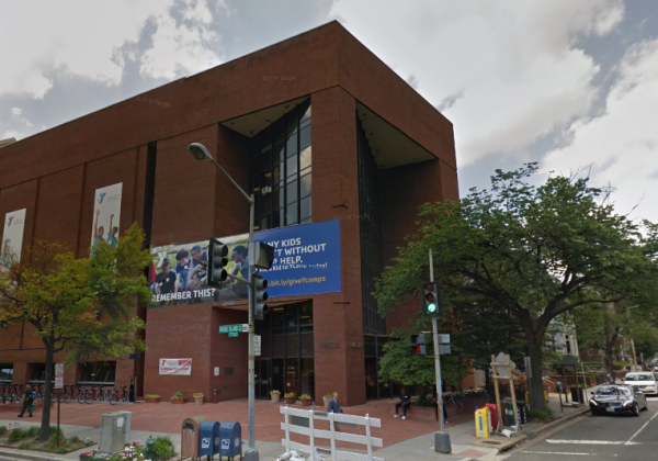 Dupont Circle YMCA, photo via Street View