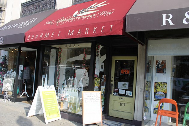 The market is located at 1717 Connecticut Ave. NW