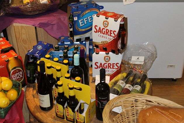 Beer and wine from across the Mediterranean can now be purchased in the market