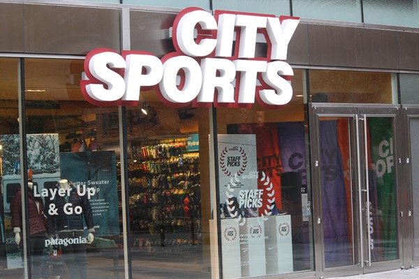 City Sports downtown